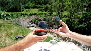 Pyrenees Fly Fishing Wine
